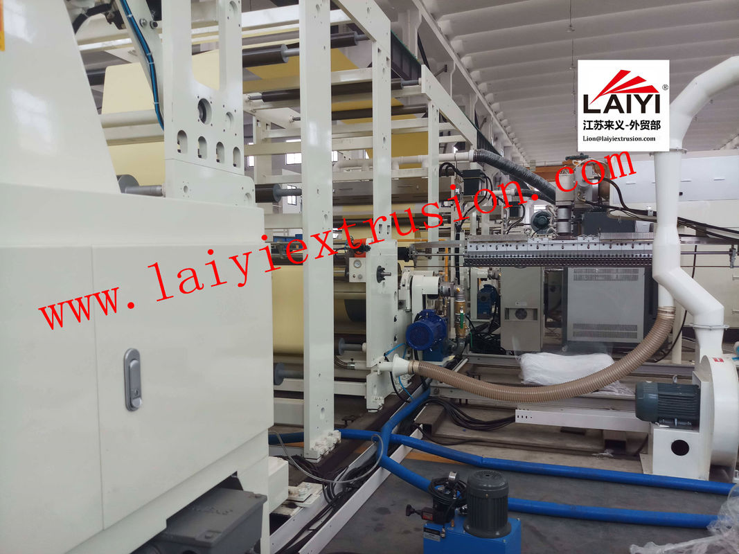 Adhesive Coating Lamination Machine Release Paper Coating Tape Laminating Machine